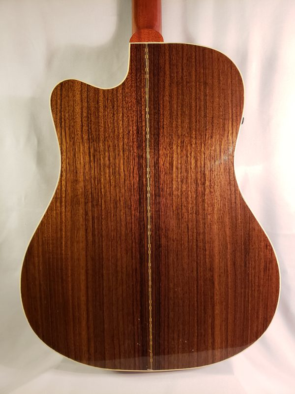 2008 Gibson Songwriter Deluxe back