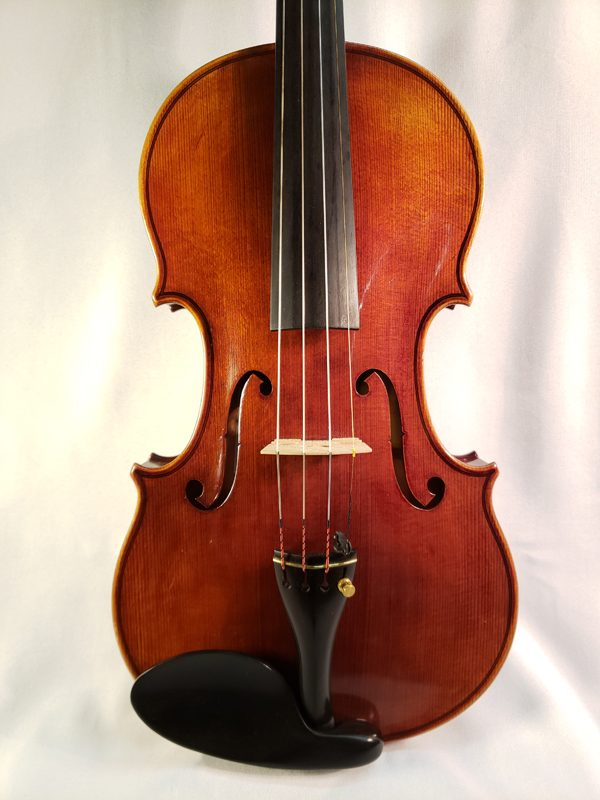 Willibald Wilfer violin Erlangen Germany 1978 top