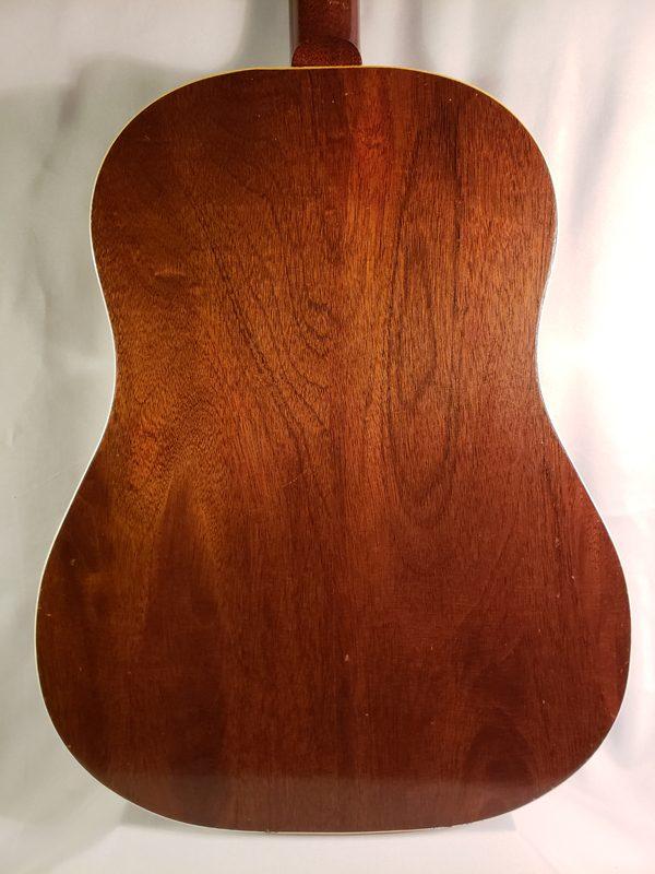 Vintage 1949 Gibson J-50 back