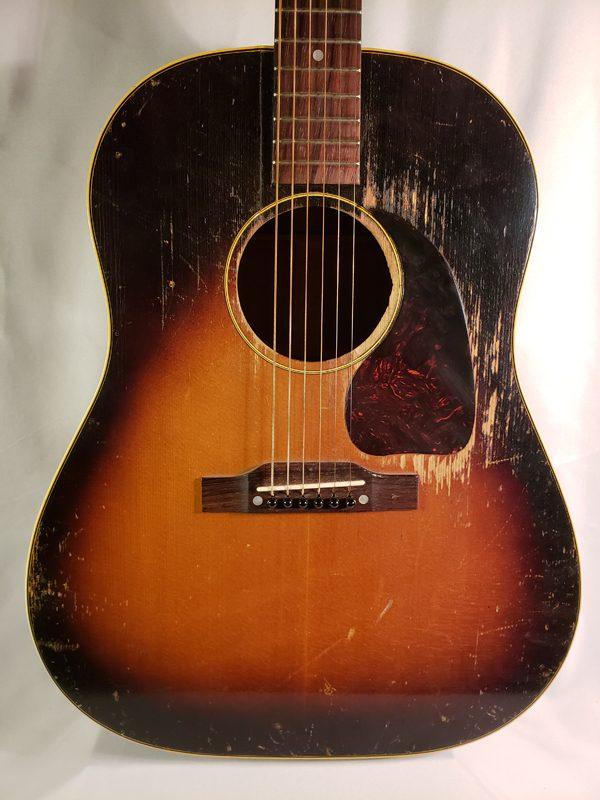 Vintage 1954 Gibson J-45 guitar