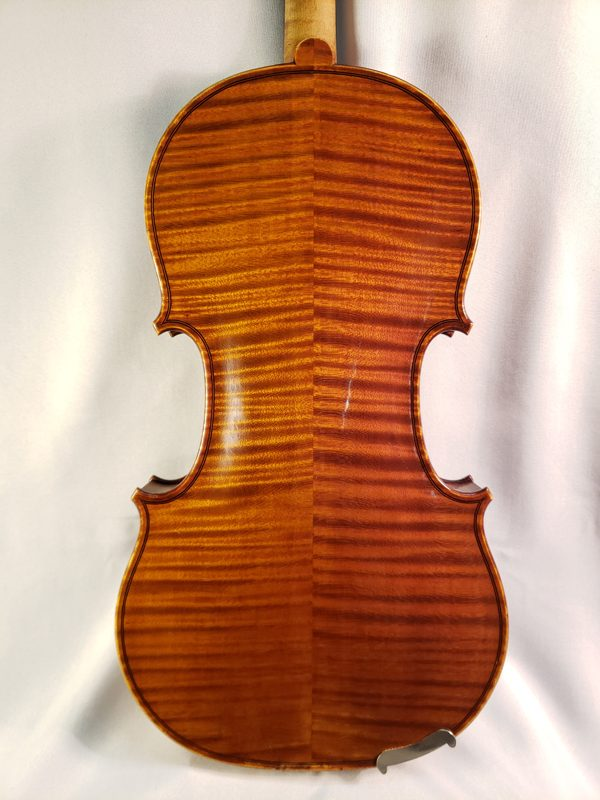 A. Delivet violin Paris 1922 back