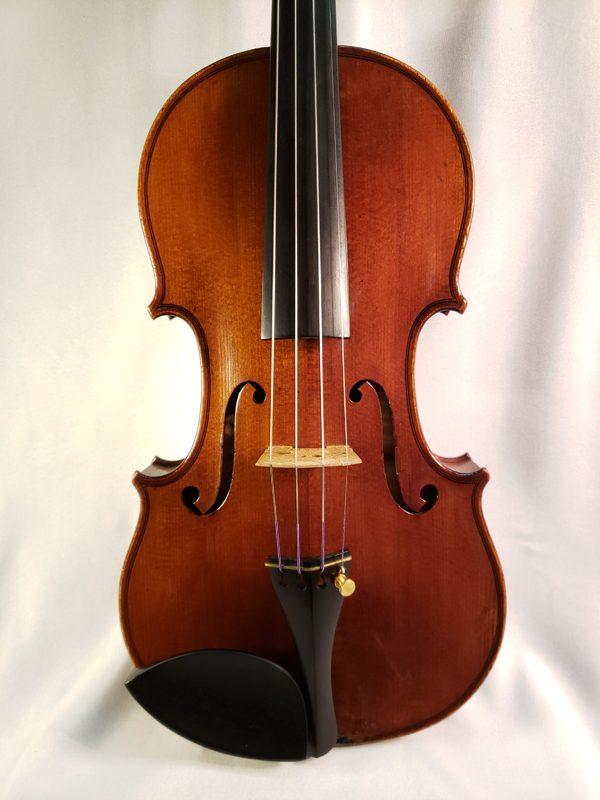A. Delivet violin Paris 1922 top