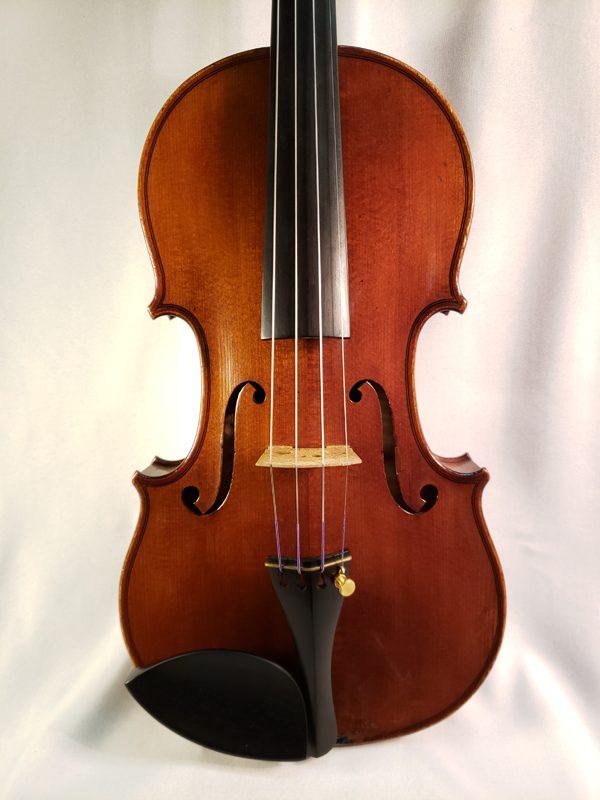 A. Delivet violin Paris 1922 top