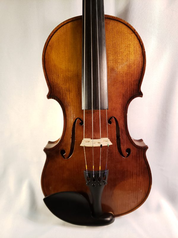 Robert Halliday violin Chicago 1940 top