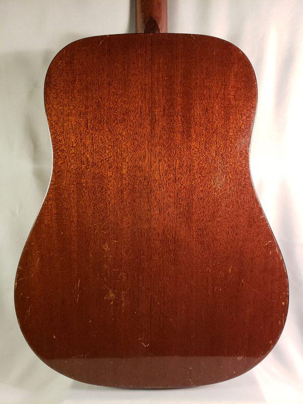 Vintage 1961 Martin D-18 guitar back