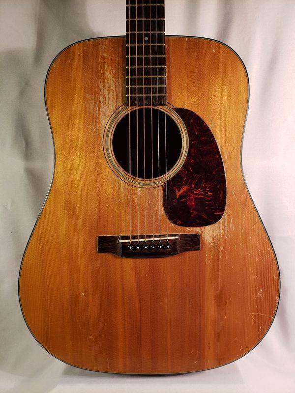 Vintage 1961 Martin D-18 guitar