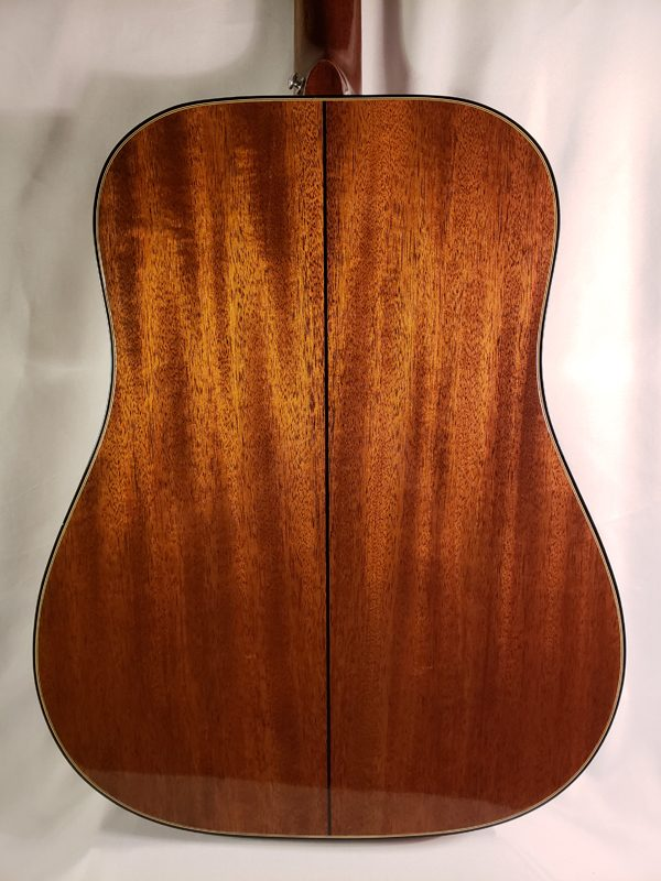 Vintage 1965 Gibson SJ Deluxe guitar back