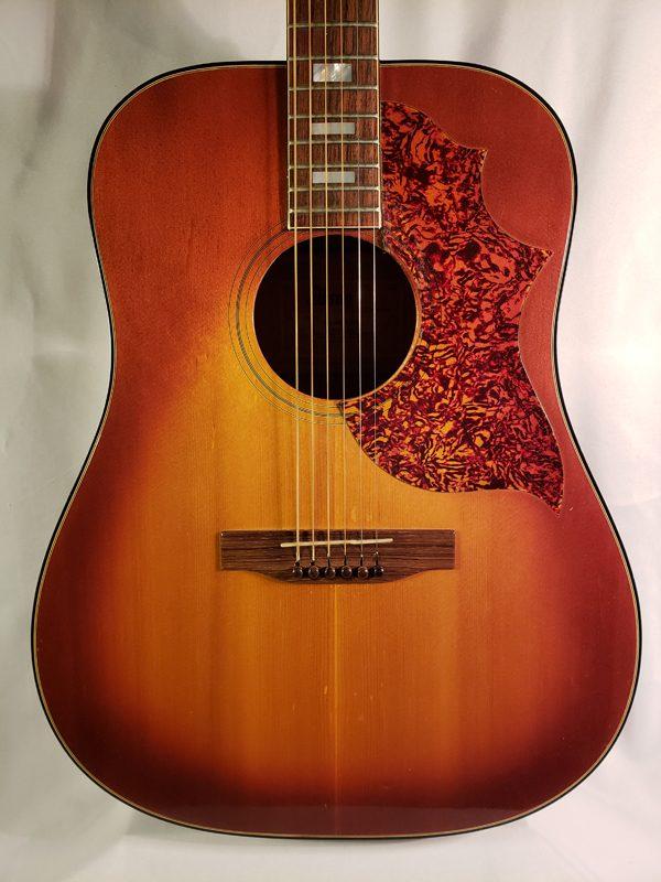 Vintage 1965 Gibson SJ Deluxe guitar