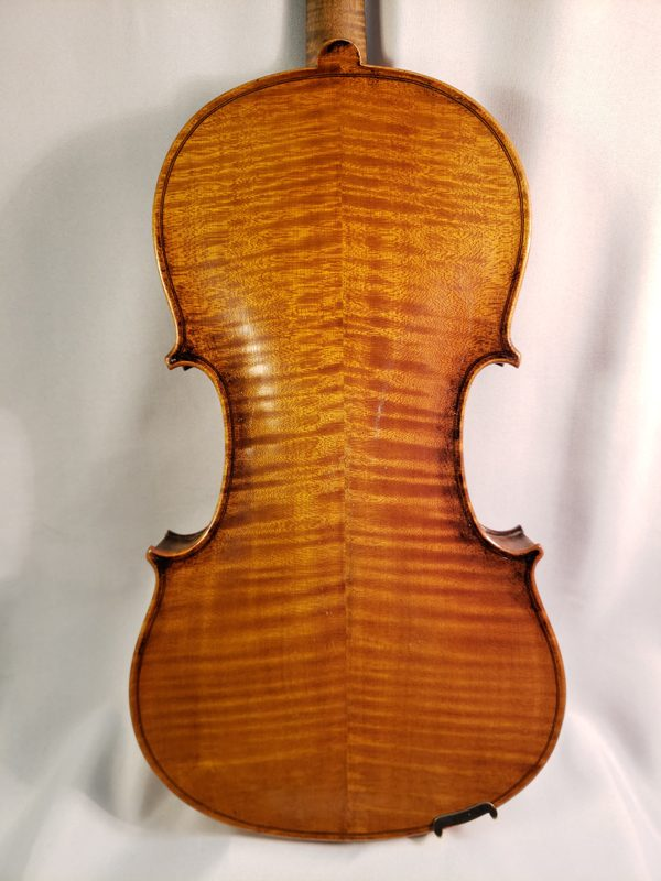 German trade fiddle early 1900's back