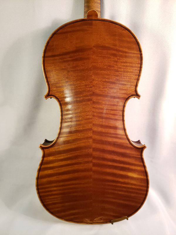 Louis Lowendall violin Berlin 1905 back