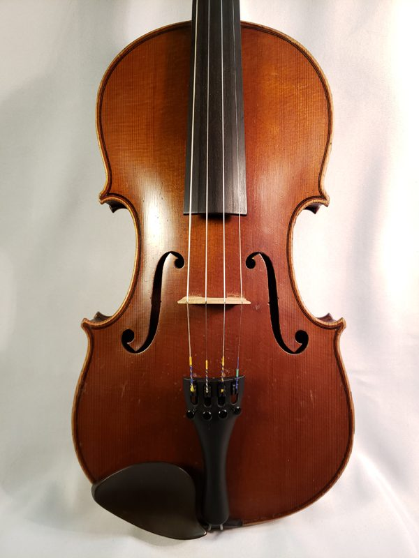 Louis Lowendall violin Berlin 1905 top