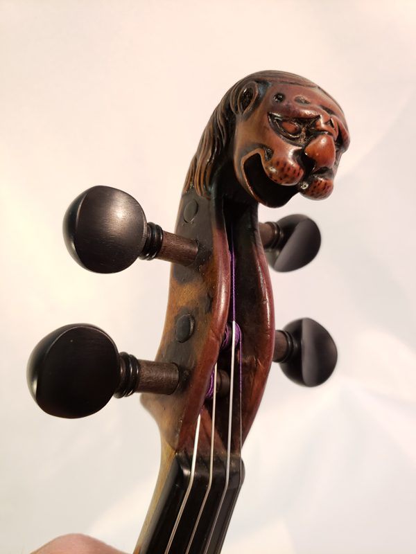 Thir Violin scroll