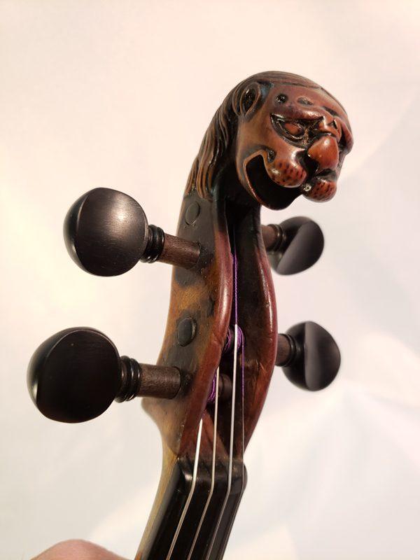 Thir Violin scroll