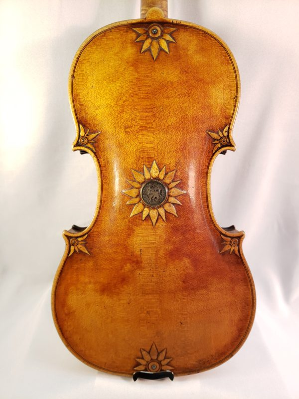 Jean Francois Renaud violin Paris 1791 back