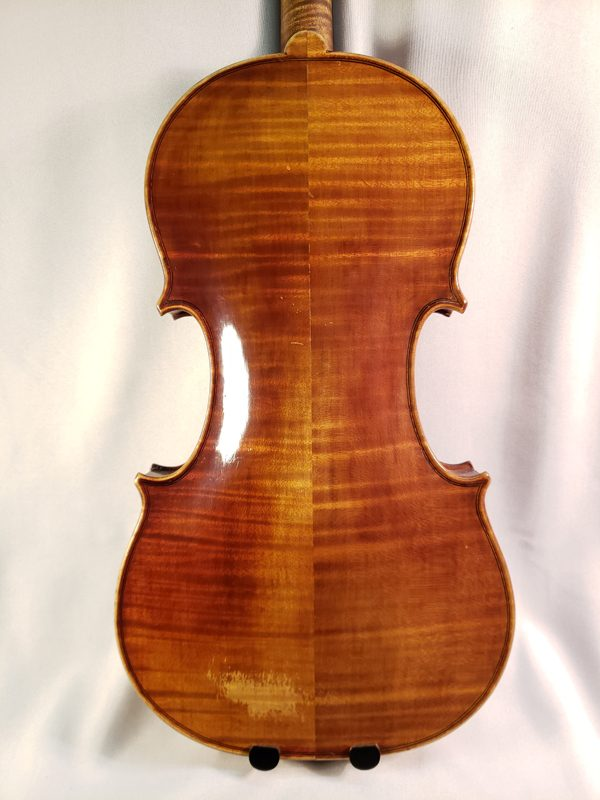 James Reynold Carlisle violin 1931 Cincinnati back