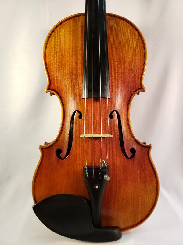 R.A. Werning made violin 2003 Norman Oklahoma