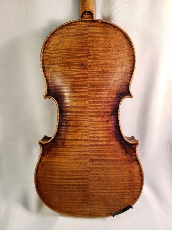 1800's German violin back