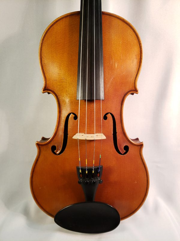 1959 Gustav August Ficker violin Mittenwald top