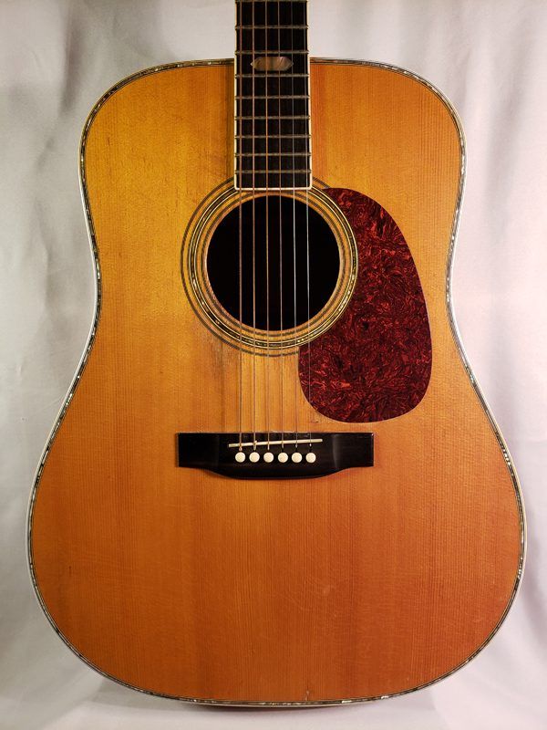 Vintage 1974 Martin D-41 with pearl inlay