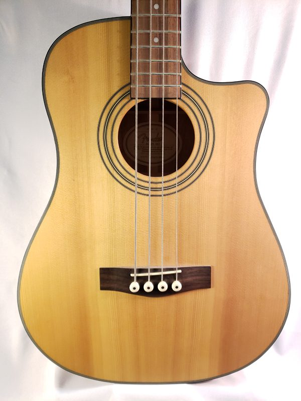 Fender acoustic electric bass guitar BG-29 top