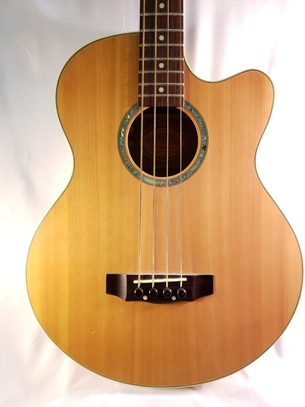 Gold Tone acoustic electric bass guitar ABG4