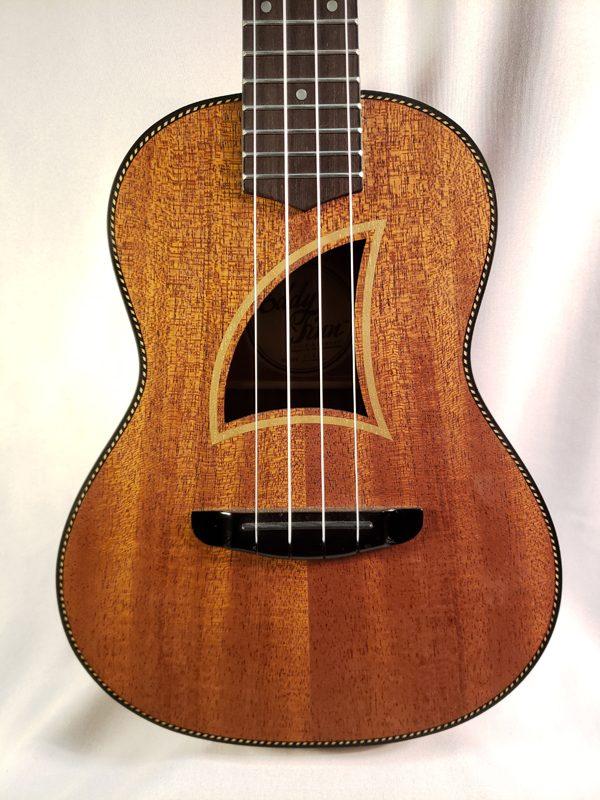 Eddy Finn ukulele ef9c top