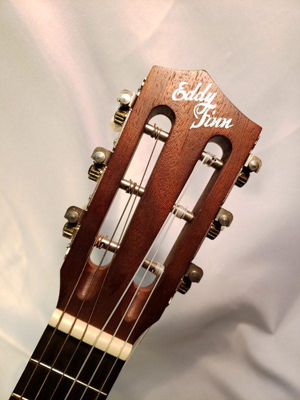 Eddy Finn EFG6 guitar ukulele headstock