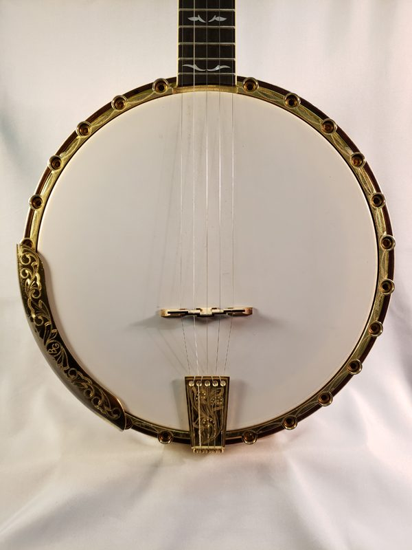 Vintage Oklahoma City Made 1970's Imperial Top Tension Banjo top